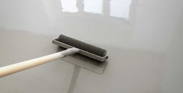 epoxy coating basement floors