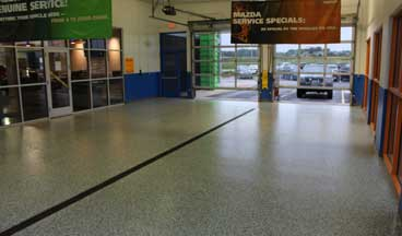 garage floor epoxy Raleigh