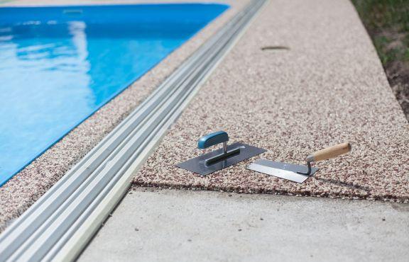 Pool deck resurfacing Raleigh
